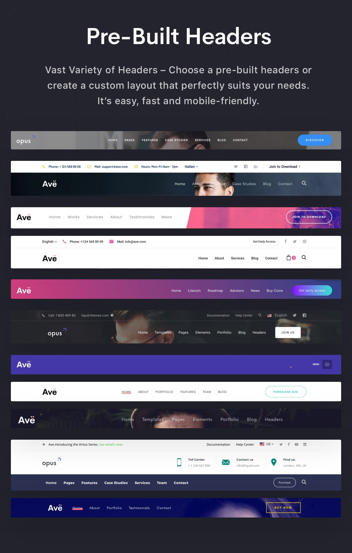 Ave - HTML Responsive Multi Purpose Template - 17