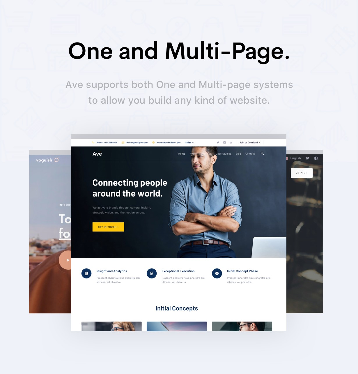Ave - HTML Responsive Multi Purpose Template - 16