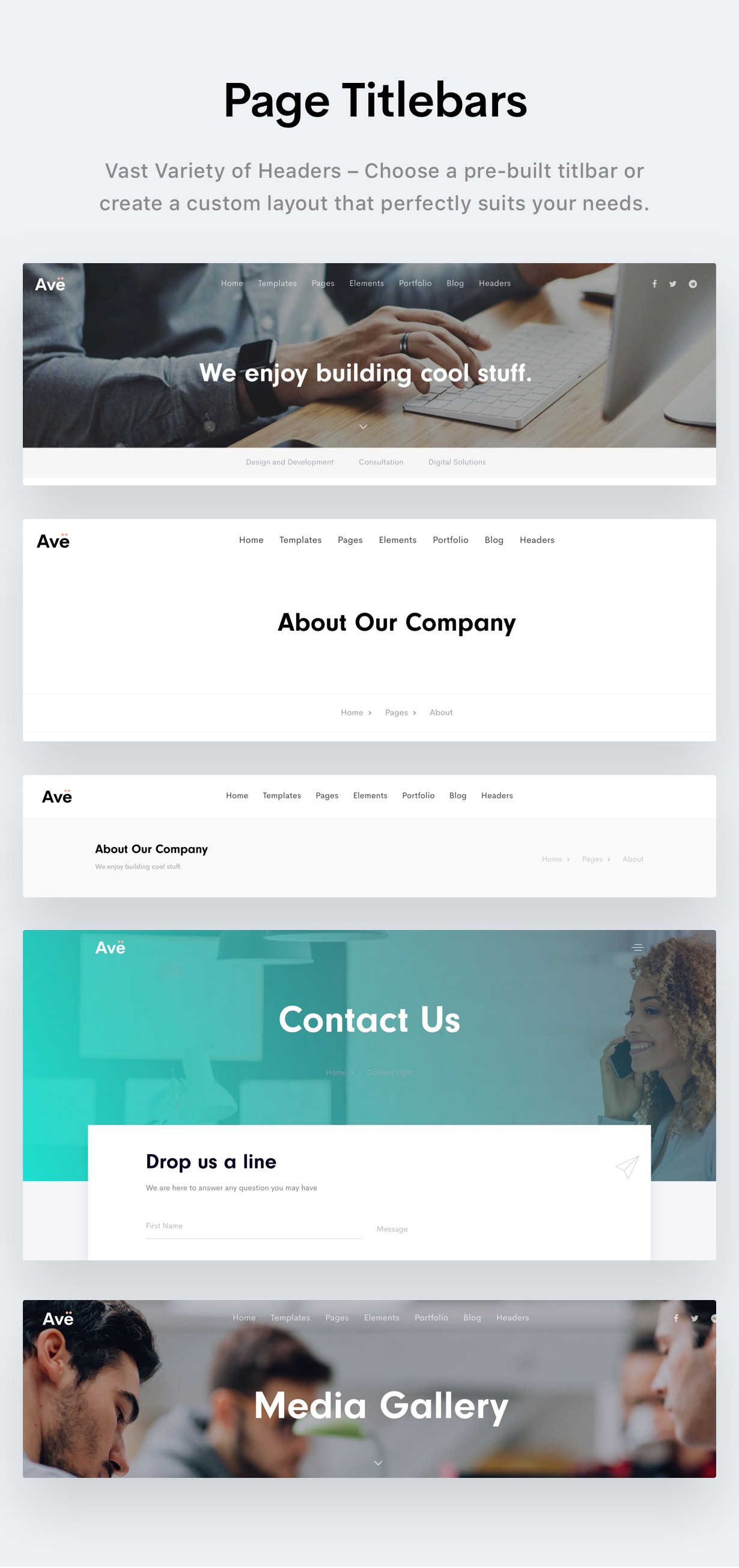 Ave - HTML Responsive Multi Purpose Template - 20